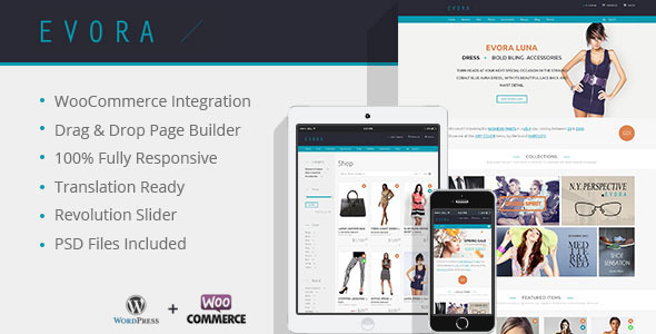 Evora - Responsive e-Commerce Theme